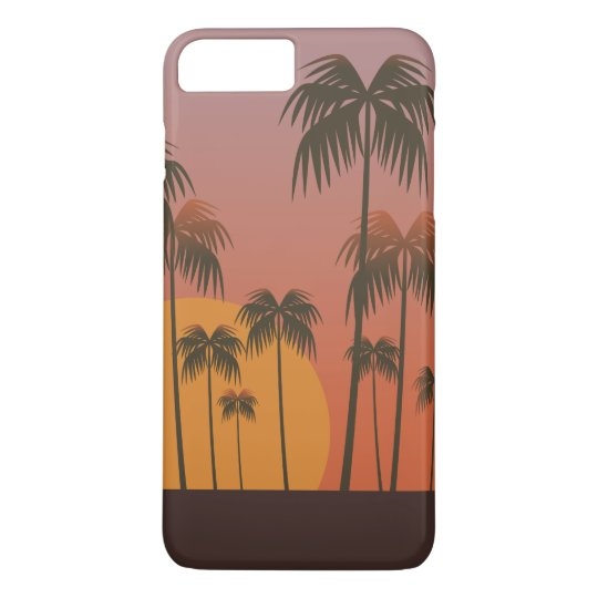 Serene Tropical Sunset & Palm Trees | Phone Case