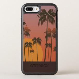 Serene Tropical Sunset & Palm Trees   Phone Case