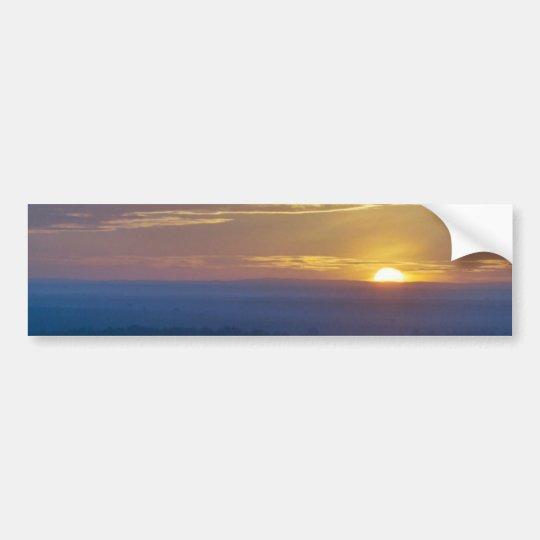 Serenegeti Sunrise Bumper Sticker