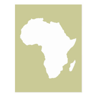 Serengeti Audacious Africa Postcard