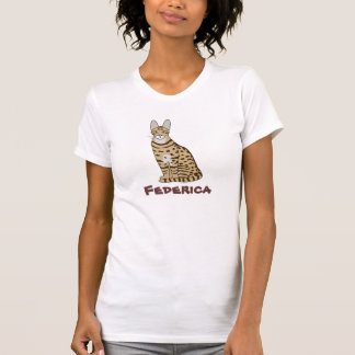 Serengeti Cat Breed Customizable T Shirt