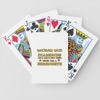 Serengeti cat breed designs bicycle playing cards