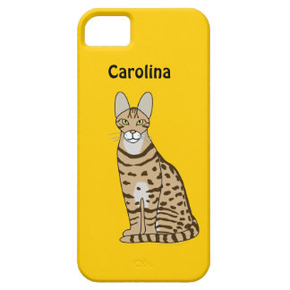 Serengeti Cat Breed Personalized iphone 5g Case iPhone 5 Cases