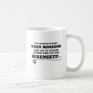 SERENGETI cat designs Mug