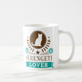 Serengeti Cat Lover Mug