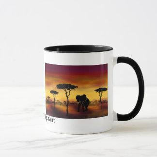 Serengeti Elephant Mug