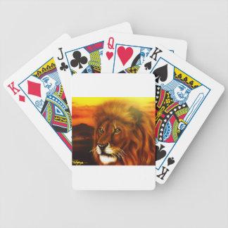 Serengeti King jpg Deck Of Cards
