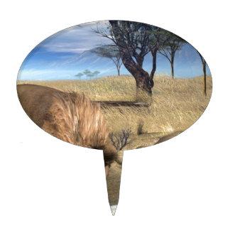 Serengeti Lions Cake Picks