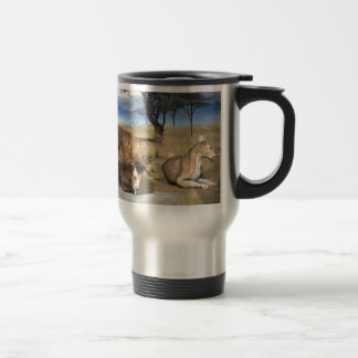 Serengeti Lions Mug