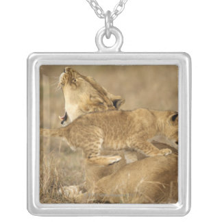 Serengeti National Park, Tanzania Silver Plated Necklace