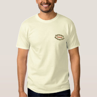 Serengeti National Park, TZ Embroidered T-Shirt