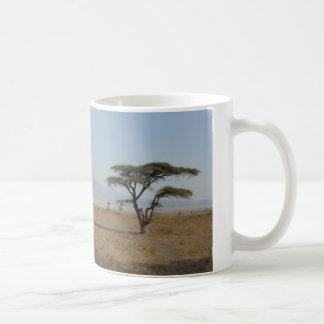 Serengeti Plains Basic White Mug