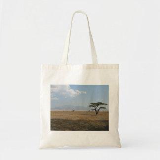 Serengeti Plains Budget Tote Bag