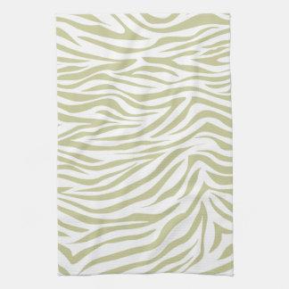 Serengeti Safari Zebra Towels