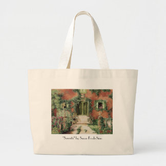 "Serenita, ""Serenita"" by Susan Frech-Sims Canvas Bags"