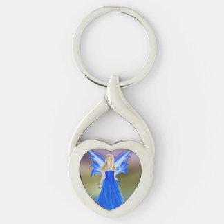 Serenity Angel Key Ring