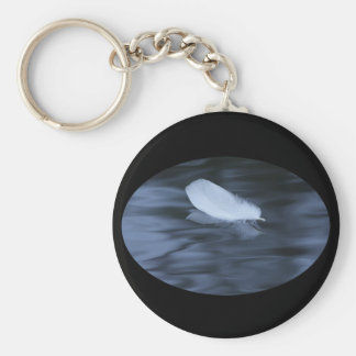 Serenity Basic Round Button Key Ring
