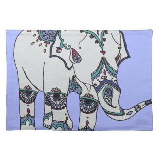 Serenity Boho Elephant Placemat