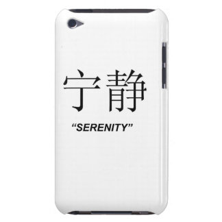"""Serenity"" Chinese symbol Apple product cases iPod Touch Covers"