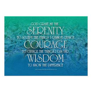 Serenity Courage Wisdom Custom Invite