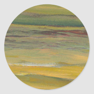 Serenity - CricketDiane Ocean Art Round Sticker
