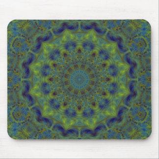 Serenity Fractal Kaleidoscope Mouse Mat