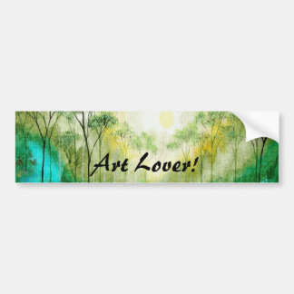 Serenity From Original Painting Bumper Sticker