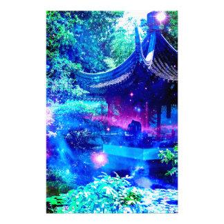 Serenity Garden Personalized Stationery