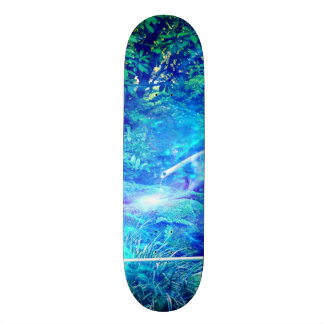 Serenity in the Garden 21.6 Cm Skateboard Deck