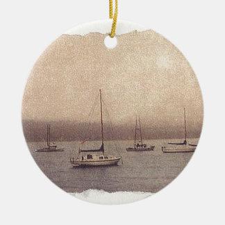 Serenity Lake Christmas Ornament