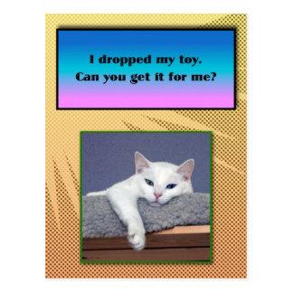 Serenity lazy Postcard