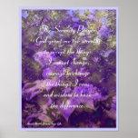 Serenity Lilacs Poster