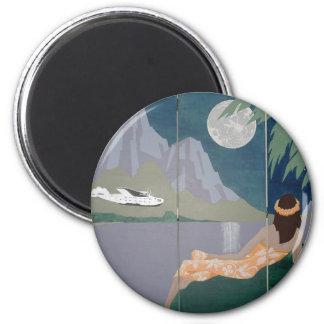 SERENITY MOON magnet (round)