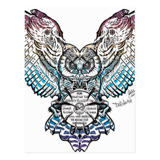 Serenity Owl Postcard