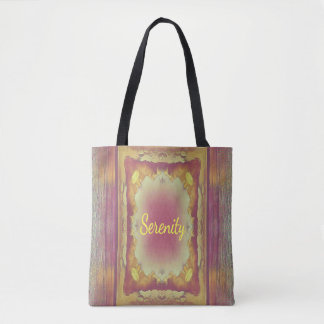 Serenity Positive Inspirational Tote Bag Purse