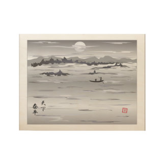 Serenity poster wood poster
