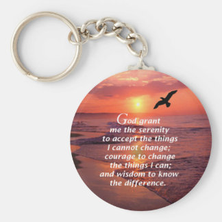 Serenity Prayer 3 Key Ring