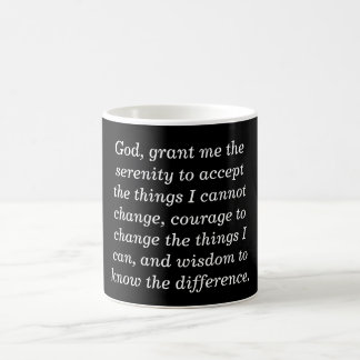 Serenity prayer - coffee mug