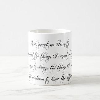Serenity Prayer Coffee Mug Coffee Mug