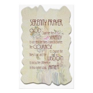 Serenity Prayer Custom Stationery