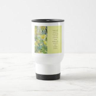 Serenity Prayer Daffodils Panels Mug