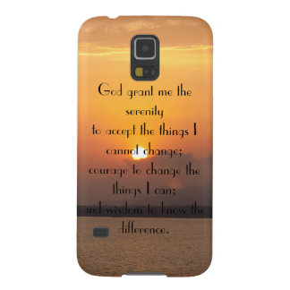 Serenity Prayer Galaxy S5 Cases