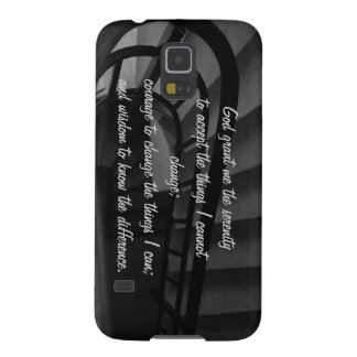 Serenity Prayer Galaxy S5 Cover