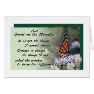 serenity prayer greeting card 10