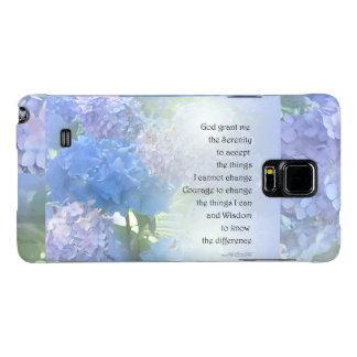 Serenity Prayer Hydrangeas Galaxy Note 4 Case