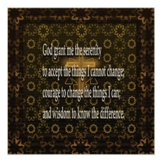 Serenity Prayer Personalized Invites