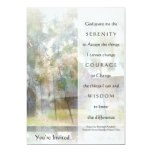Serenity Prayer Invitation