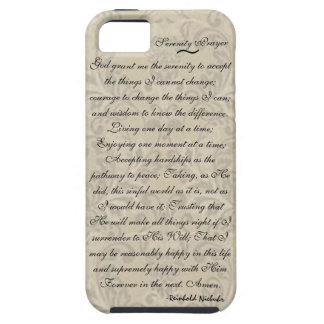 Serenity Prayer iPhone-5 Case