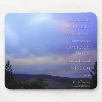 Serenity Prayer June Daybreak Mouse Mat