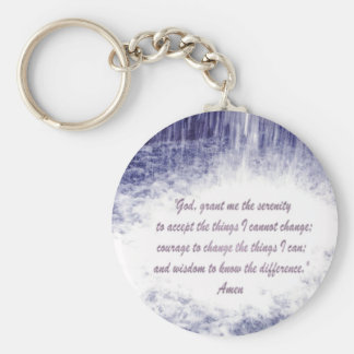Serenity Prayer keychain